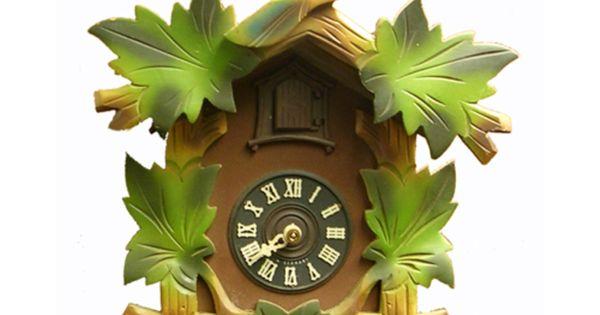 Vintage 1960s German 30 Hour Cuckoo Clock at AANtv.com ...