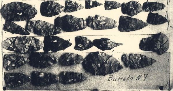 (New York) Native American Artifacts from around Buffalo ...