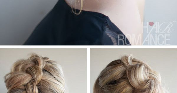 9 Easy And Chic Hairstyle Tutorials With Braids.. Absolutely beautiful for long