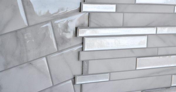 Product Review Smart Tiles Engineer Your Space Smart Tiles Trendy Kitchen Backsplash Smart Tiles Backsplash