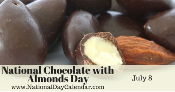 National Chocolate With Almonds Day July 8 Food Recipe For I Don T Know Almond