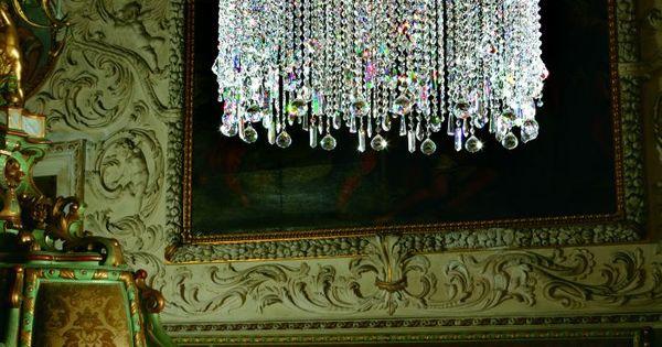 Vintage chandelier for living room / living area & bedroom