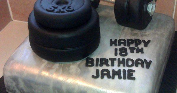Weightlifting Cake Cake Decorating Ideas Pinterest