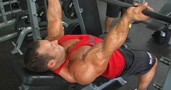Reverse Grip Incline Press Bench Press Incline Bench Workout