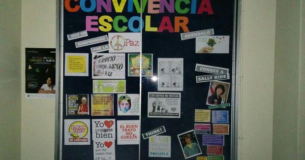 diario mural de convivencia escolar liceo bicentenario