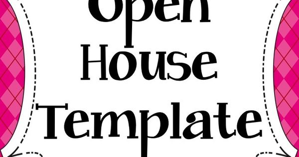 open house powerpoint template grades 3 5 this open house