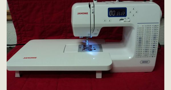 Janome 8050 Computerized Sewing Crafting Amp Quilting