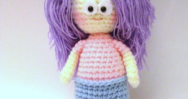Amigurumi Girl Tutorial : Pattern, Amigurumi Pattern, Crochet Girl Pattern ...