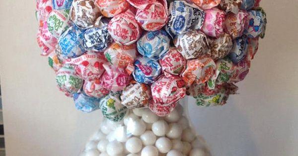 Peachy Dum Dum Lollipop Flower Ball Vase Candy Centerpiece Wedding Beutiful Home Inspiration Cosmmahrainfo