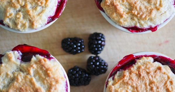 ... blackberry-cobblers/ | Sweet Treats | Pinterest | Blackberry Cobbler