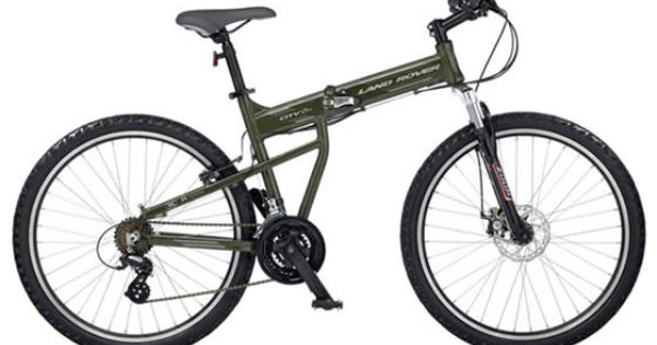 Land Rover City Bike It Folds For Easy Storage Between Commutes