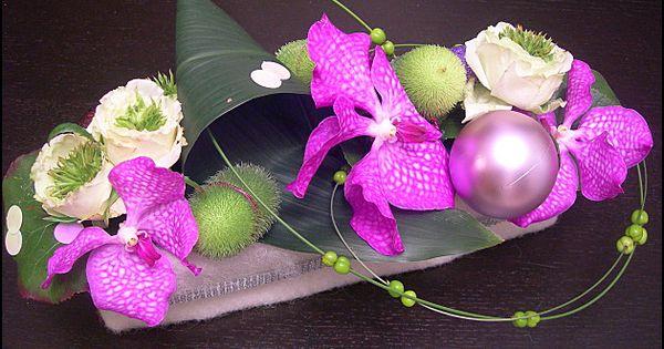 centre de table orchid es 40 d co fleurs pinterest. Black Bedroom Furniture Sets. Home Design Ideas