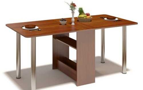 30 space saving folding table design ideas for functional small rooms furniture kitchen small - Foldable dining tables for small spaces ...