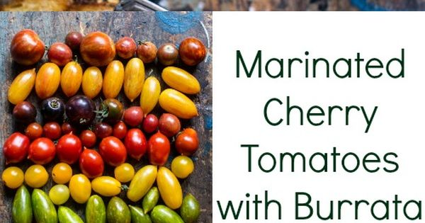 Cherry tomatoes, Toast and Cherries on Pinterest