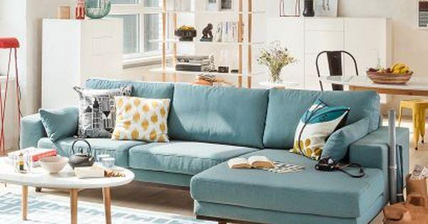 Canap d 39 angle billund sal n sala de estar y decoraci n for Decoracion de canapes