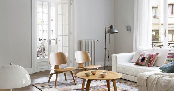 Estilo escandinavo en barcelona paredes grises blog for Muebles nordicos barcelona