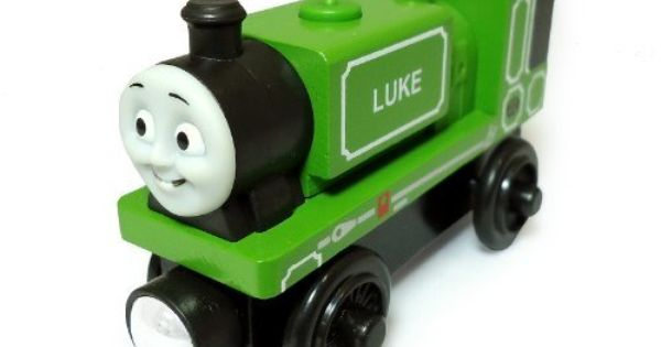 Thomas Wooden Railway Luke By Fisher Price Http Www Amazon Com Dp B009k4e5lm Ref Cm Sw R Pi Dp Nvktsb0amzscw Wooden Toy Train Toy Train Thomas And Friends