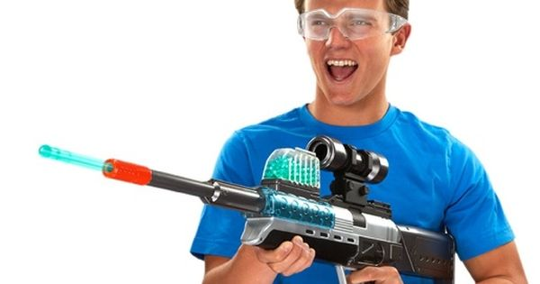 Guns For Boys Christmas Toys : Holy crap xploders gun with zombie target best toys