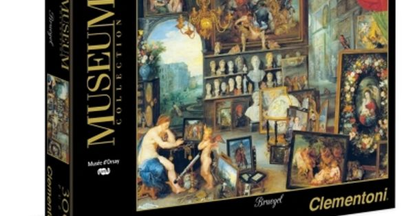 Puzzle Clementoni Museum Collection Jan Breugel H Ais8hsh Ths Orashs 3000 Kommatia 1220 33542 Museum Collection Puzzle Puzzle 3000