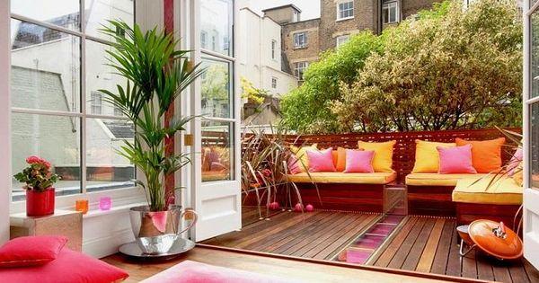 C mo decorar balcones y terrazas peque as terrazas - Balcones y terrazas ...