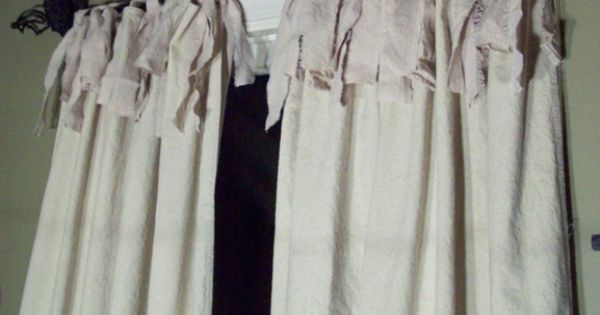 Upcycled Curtains Upcycled Home Decor Pinterest Pottery Barn Inspired And Barn