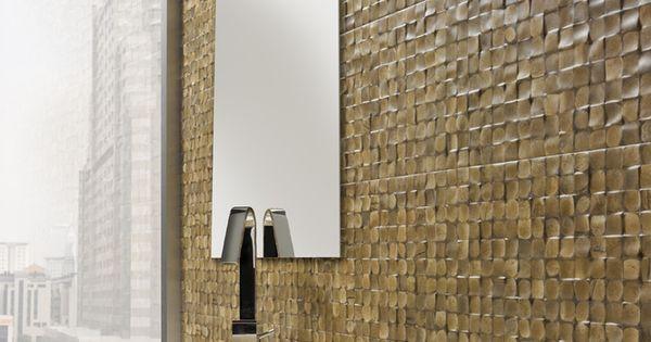 Panneaux muraux en noix de coco rev tement mural naturel - Revetement mural acoustique absorption ...