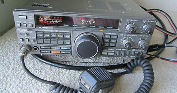Kenwood Ts 440s Hf Ham Radio Transceiver Receiver W Microphone 440 S Elettronica Televisori