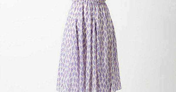 anthropologie diamond kite dress