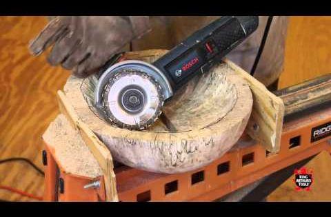 Bowl carving king arthur s tools logs