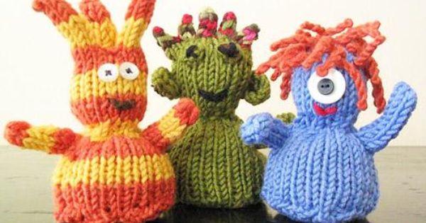 diy knitting diy yarn diy knitty toasty pocket creatures
