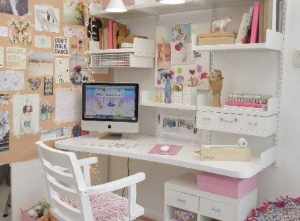 Pink Office Chair Workspaces