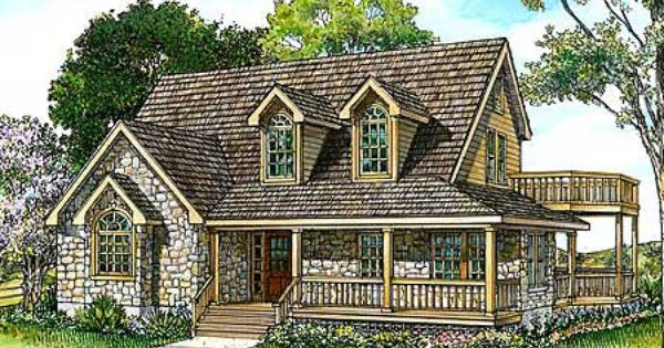Plan 46036hc country stone cottage home plan stone for Loft 213 stone wrap