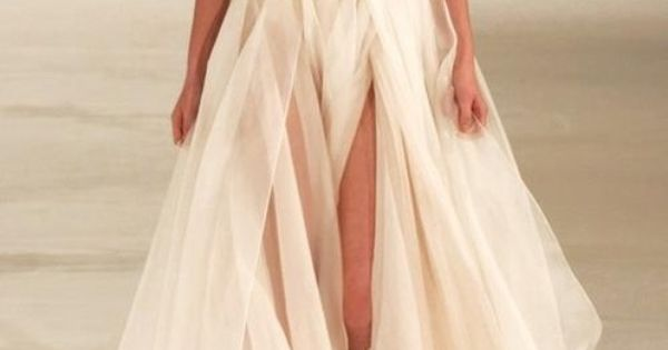 This gown has it all. Romantic. Sexy. Understated. Graceful. Chanel has the