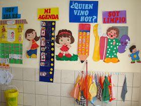Ambientacion Del Aula Es Hora De Preparar El Aula Para Recibir A Nuestros Alumnos Decoración Aula De Preescolar Decoracion De Aulas Decoración Sala De Clases