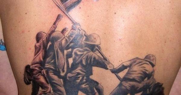 Iwo jima cool tattoos pinterest best iwo jima for Iwo jima tattoo