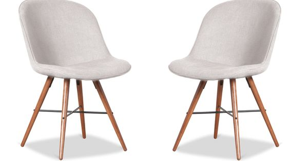 Clam Beige Walnut Chair Set  Woonkamer  Pinterest  Chairs, English ...