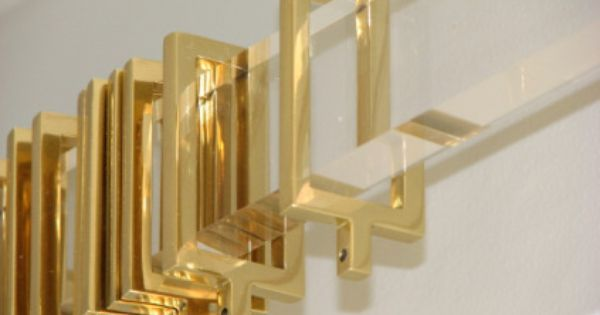 Still Swooning For Gold Acrylic Curtain Rods Drapery Hardware
