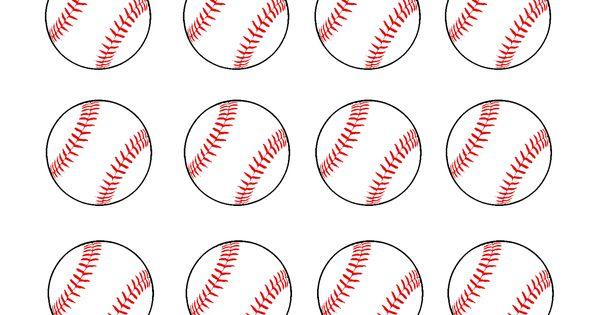 Free Printable Baseball Clip Art Images Inch Circle
