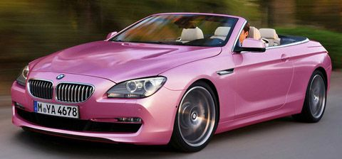 Pink Bmw Car Pictures Images A Super Hot Pink Beamer Pink