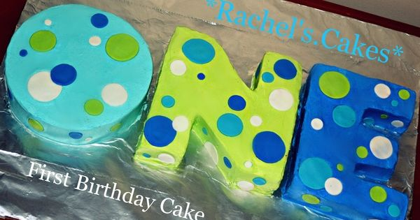 1st birthday party ideas for boys | 1st Birthday Cake for a