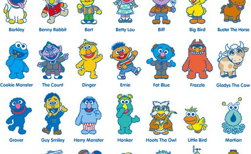 Baby Sesame Street Characters Names the characters names o...