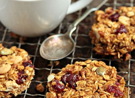 Pumpkin Granola Bars for kids snack