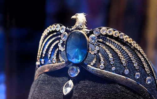 The Diadem of Rowena Ravenclaw. Photo taken in the Harry Potter studio