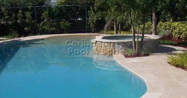 Caribbean pool and spa construcci n de piscinas en - Piscinas tipo playa ...