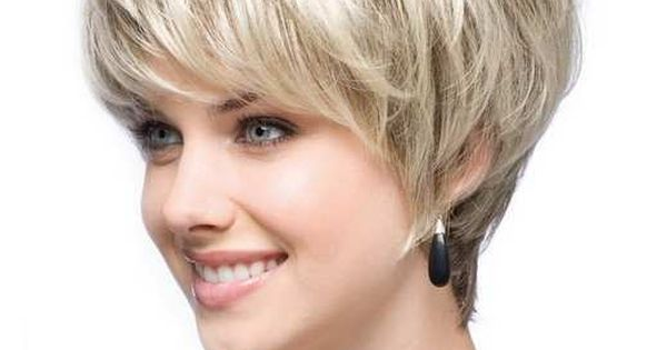 Best And Cute Haircut For Round Faces And Thin Hair Of