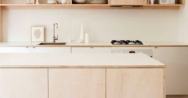 How to create a stunning kitchen with plywood: 12 inspiring ideas  부엌 수납장 ...