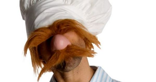 Swedish Chef Muppets Costume Adult