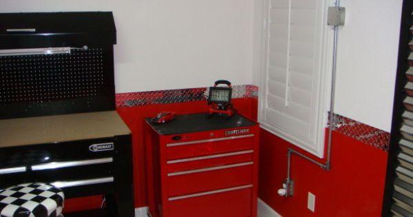 Garage themed bedroom adrien pinterest for Garage themed bedroom ideas