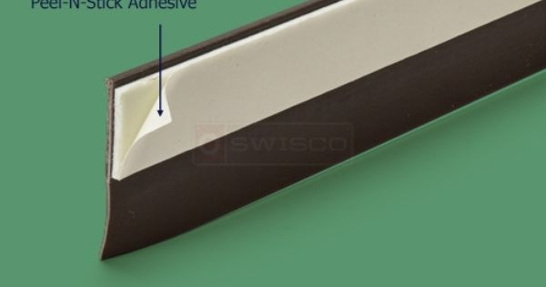 Peel N Stick Door Sweep Weatherseal Easy To Apply Weatherstrip