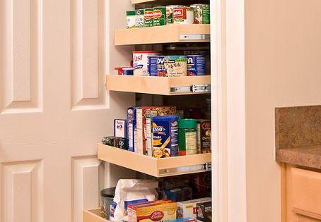 Pantry design id es pour la maison pinterest design for Placard garde manger cuisine